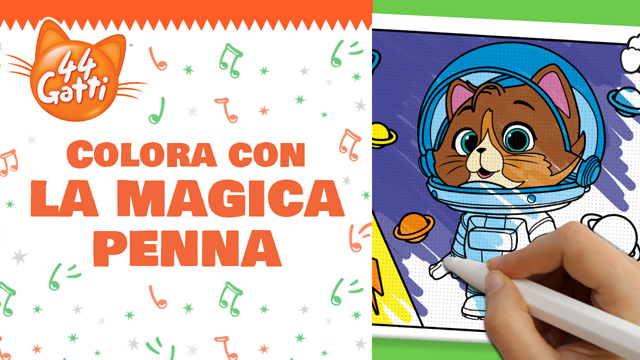 La Magica Penna Che Colora E Non Sporca 44 Gatti