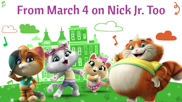 44 Cats premiere in United Kingdom on Nick Jr  Too from