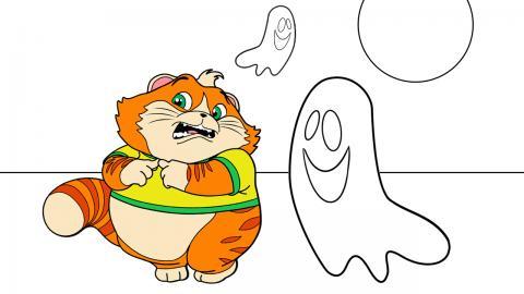 Coloriages Halloween A Imprimer Coloriage A Imprimer 44 Chats