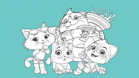 Coloriage Buffycats A Imprimer Coloriage A Imprimer 44 Chats